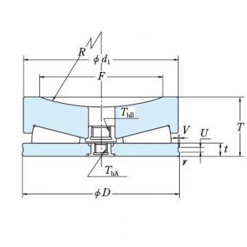 NSK 220TFX01 THRUST BEARINGS For Adjusting Screws