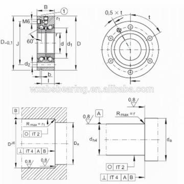 NSK 615TFV01 THRUST BEARINGS For Adjusting Screws
