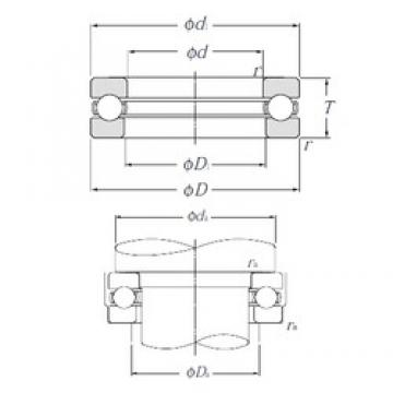 NTN 51128 Thrust Bearings