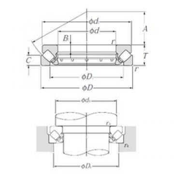 NTN 29244 Thrust Bearings