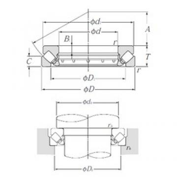 NTN 29452 Thrust Bearings