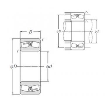 180 mm x 280 mm x 100 mm  NTN 24036B Spherical Roller Bearings
